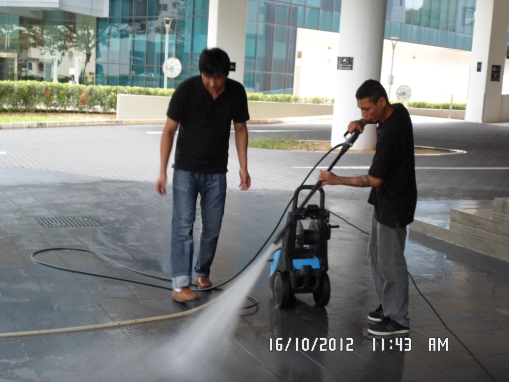 Water Jet Cleaning